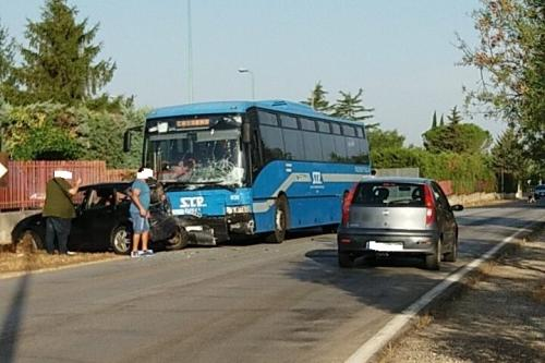 incidente via altamura